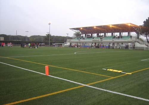 Zona esportiva Municipal Sta. Cristina Aro